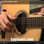 Ain't No Sunshine Guitar Lesson