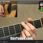 American Pie chords