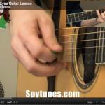Angel Eyes Guitar Lesson