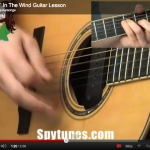 Blowin In The Wind Guitar Lesson