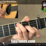 Blowin In The Wind chords
