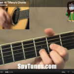Breakfast At Tiffany's chords