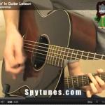 Creepin' In Guitar Lesson