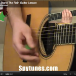 I Can't Stand The Rain Guitar Lesson