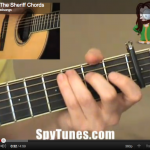 I Shot The Sheriff chords