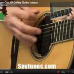 One More Cup Of Coffee Guitar Lesson