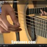 Scarborough Fair Guitar Lesson