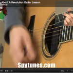 Talking About A Revolution Guitar Lesson