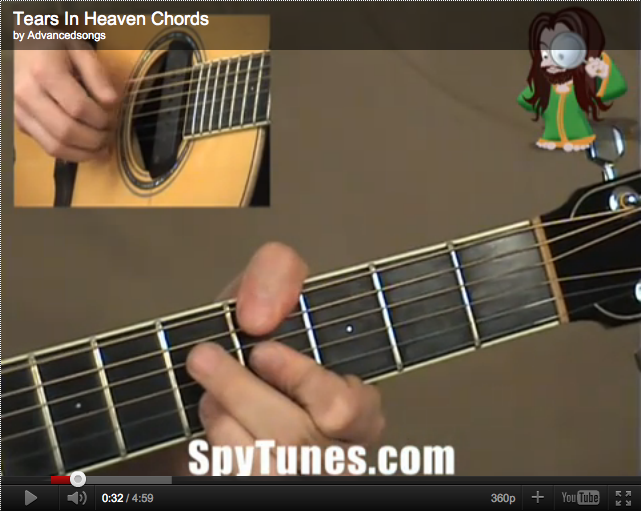 Tears In Heaven chords