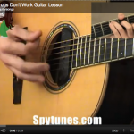 The Drugs Don't Work Guitar Lesson