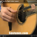 Why Don't You Do Right Guitar Lesson