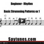 Beginner rhythm 1