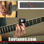 E chord shape