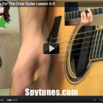 Whistle For The Choir Guitar Lesson