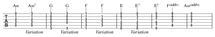 Beginner Course Week 7 part 3 One More Cup chord variations