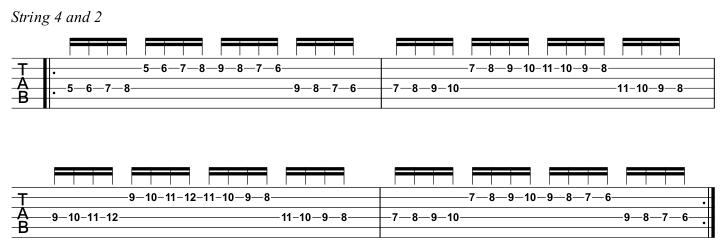 Beginner Course Week 8 Chromatic loop string pairs step 3 s 4 and 2