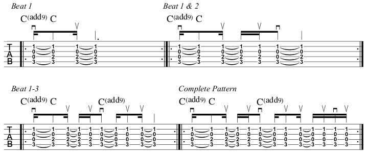 Rewind lesson Capo fret II