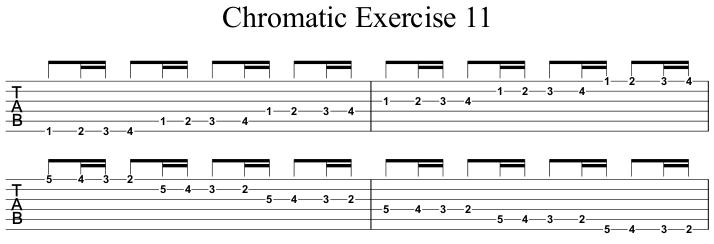 Chromatic Exercise 11