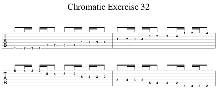 Chromatic Exercise 32