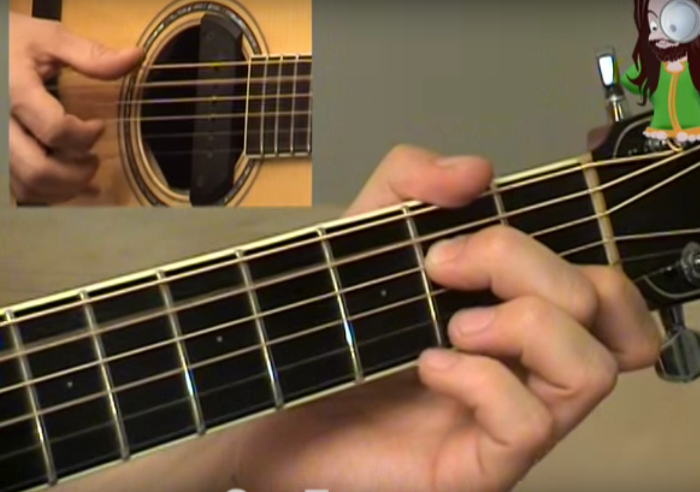 Ain\'t No Sunshine chords and fingerstyle arrangement