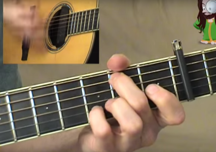 Blowin\' In The Wind chords and strumming