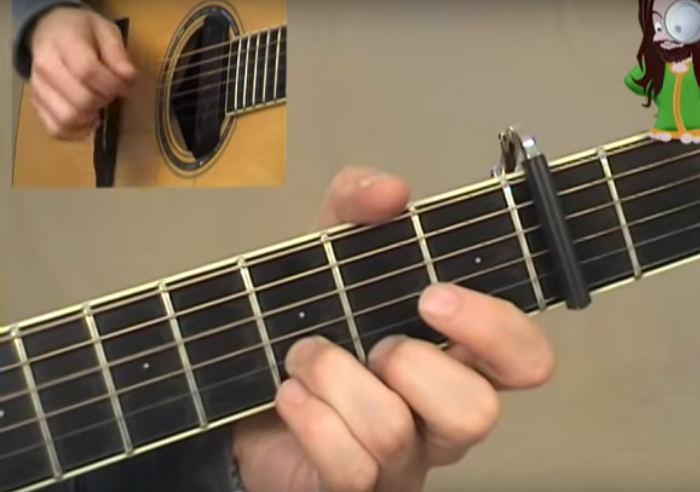 Fast Car Chords And Fingerstyle Arrangement - Fast car plucking