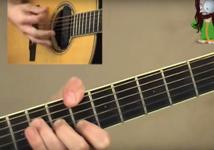 Starman chords and strumming