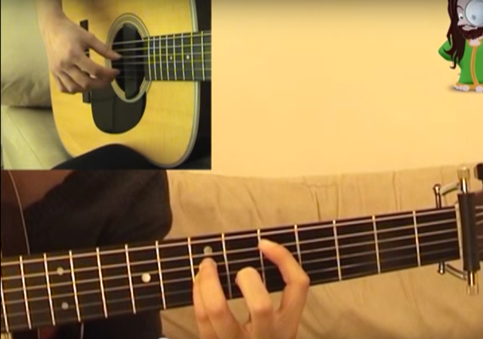 The Scientist chords and fingerstyle arrangement